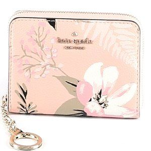 kate spade Pink Floral Zip Around Wallet